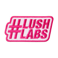 a pink lushlabs patch