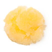 Gelbes Zuckerpeeling für die Lippen