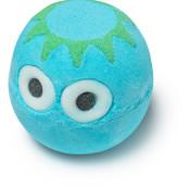kappa bomb de baño de color azul y verde
