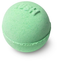 green bath bomb mini