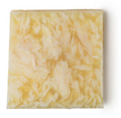 a yellow block of soap