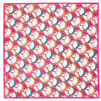 Knot Wrap You're magic con stampa di unicorni colorati