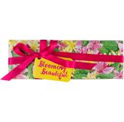 Blooming Beautiful caja de regalo con flores y 3 bombas de baño para tu jardín secreto