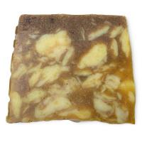 ein stück der gelben sandstone seife