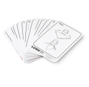 a pack of cards showing how to use knot wraps