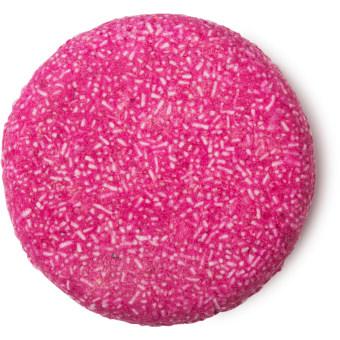 jason and the Argan Oil champú sólido  de color rosa con aceite de argán para darle suavidad y brillo al pelo