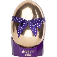 Confezione regalo Golden Egg a forma di uovo di Pasqua dorato