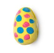 Cream egg burbuja de baño en forma de huevo de pascua primavera