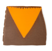 orange and brown soap