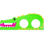 green crocodile themed bath bomb holder