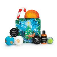 Happy christmas gift lush store