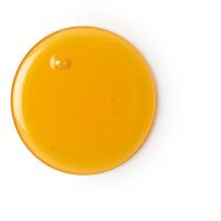 Um gel de duche luxuriante com ylang ylang e jasmim com cor laranja