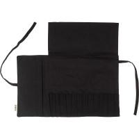 its a wrap manta para guardar las brochas de color negro