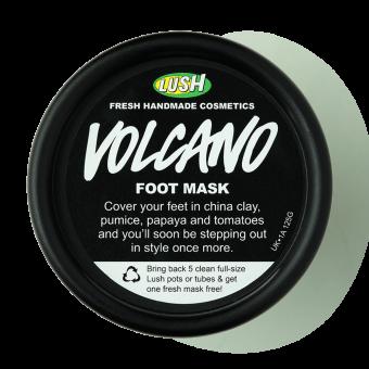 Volcano (Rispetta i Piedoni) Maschera per i piedi Lush