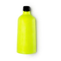 ectoplasm halloween gel doccia nudo e solido a forma di bottiglia di colore giallo fluorescente