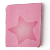 Sabonete Rock Star rosa doce cremoso de baunilha