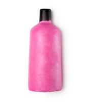 Gel doccia nudo di Natale Snow fairy a forma di bottiglia rosa con tappo nero