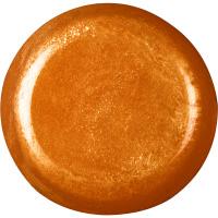 Ein glänzendes, glitzerndes oranges Deep Sleep Dusch jelly