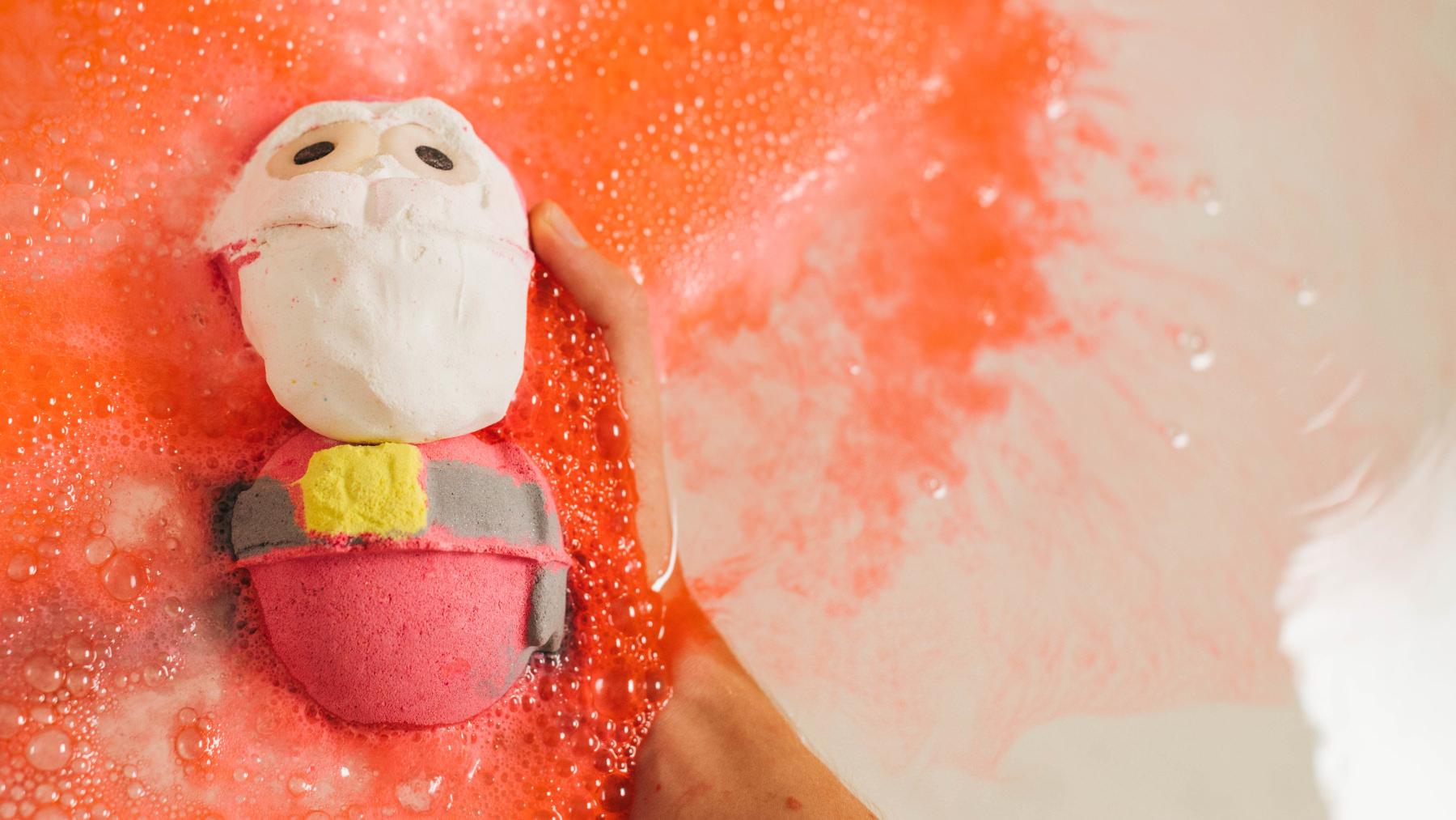 Santa koupelová bomba