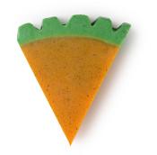 oranžové mýdlo ve tvaru mrkve Carrot