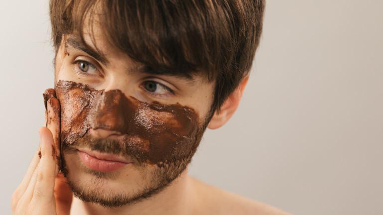 hero rudolph christmas jelly face mask