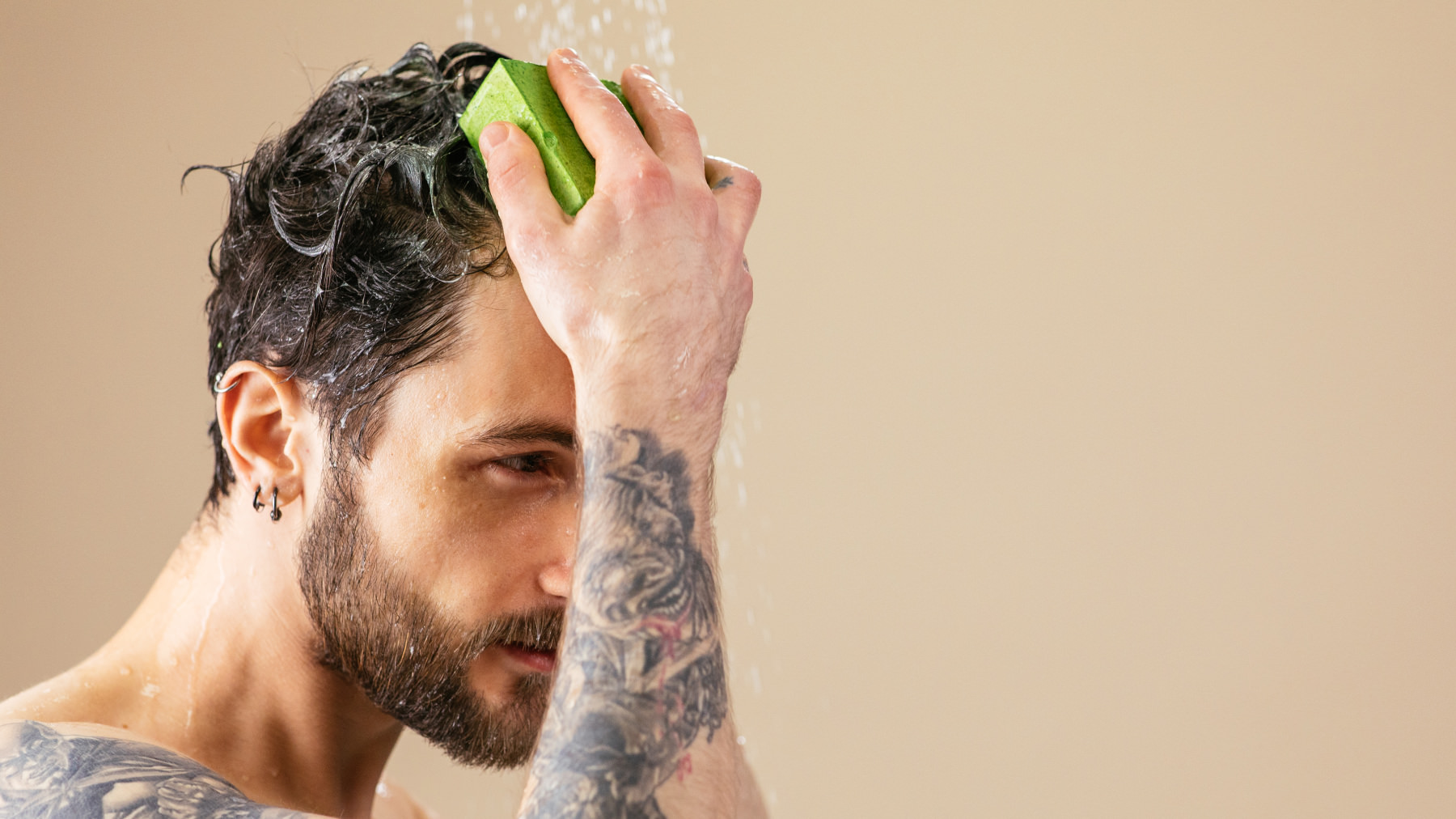 hero cafe vegan protein shampoo bar lush labs