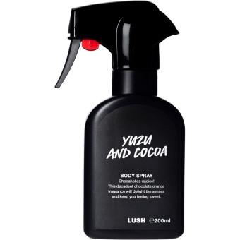 yuzu and cocoa body spray