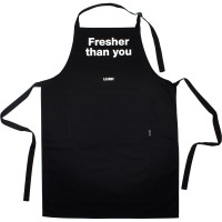 Fresher Then You apron