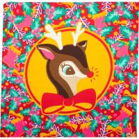 It's Christmas Deer Knot Wrap con disegno di renna di Natale - Edizione Limitata Natale 2019