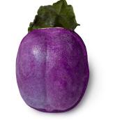 Purple plum shaped Bubbleron Bubble bath