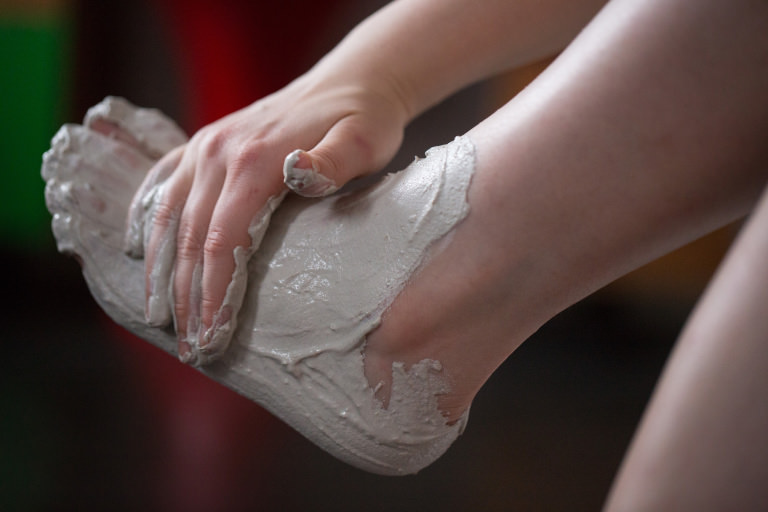 Pamper your feet with Volcano foot mask