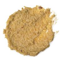 Oatifix é uma máscara facial de esfoliação suave feita com bananas frescas e manteiga de illipê para hidratar pele seca