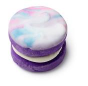 Purple Drain marbled bubblerron