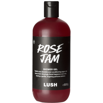 Garrafa do gel de duche Rose Jam