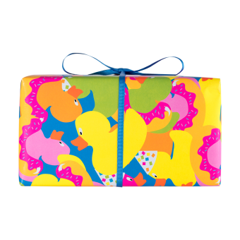 happy bathday gift side view