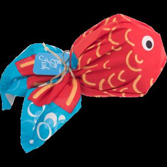 Big Fish dárková sada zabalená v šátku