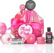 think pink, lush, ajándék, szülinap