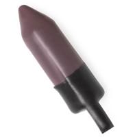 batom vegan sem embalagem andora cor violeta semi mate