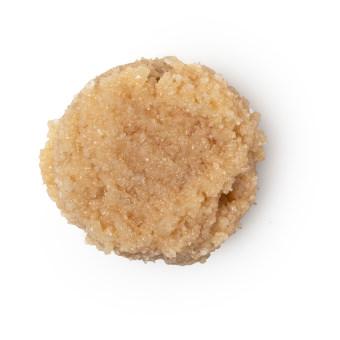 Esfoliante de lábios cookie dough de cacau e baunilha para uns lábios mavios e saudáveis