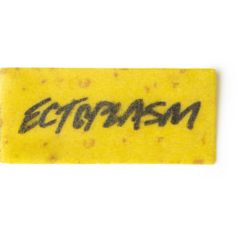 Wash Card di Halloween Ectoplasm di colore giallo