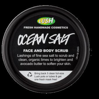 Ocean Salt exfoliante facial y corporal