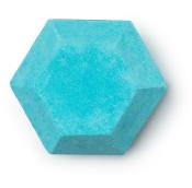 magic bomba de baño de color verde azul