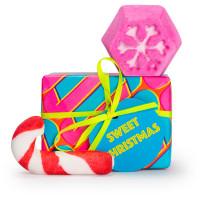 Sweet christmas é um dos presentes de natal com dois mimos cor de rosa