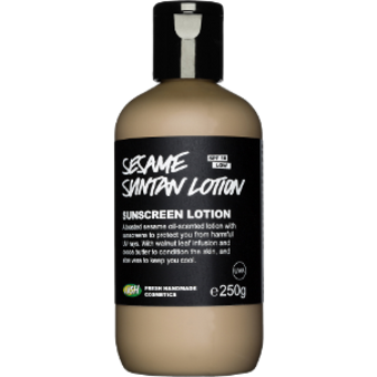 Sesame Suntan Lotion Protezione solare - SPF 10 Bassa Lush