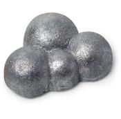 A silver bubble bar