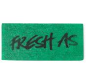 a green fresh as washcard