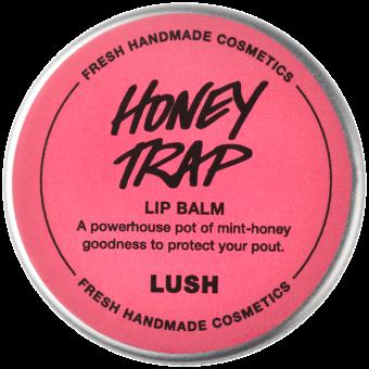 Confezione del Balsamo labbra a base burro di karitè e miele per labbra screpolate e secche Honey Trap (Seguimi)