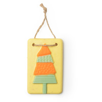 Retro Tree Bath Melt Tablet