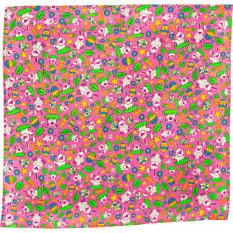 lush singapore easter egg hunt knot wrap