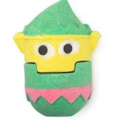 elf bomba de baño gigante de navidad en forma de elfo de color verde